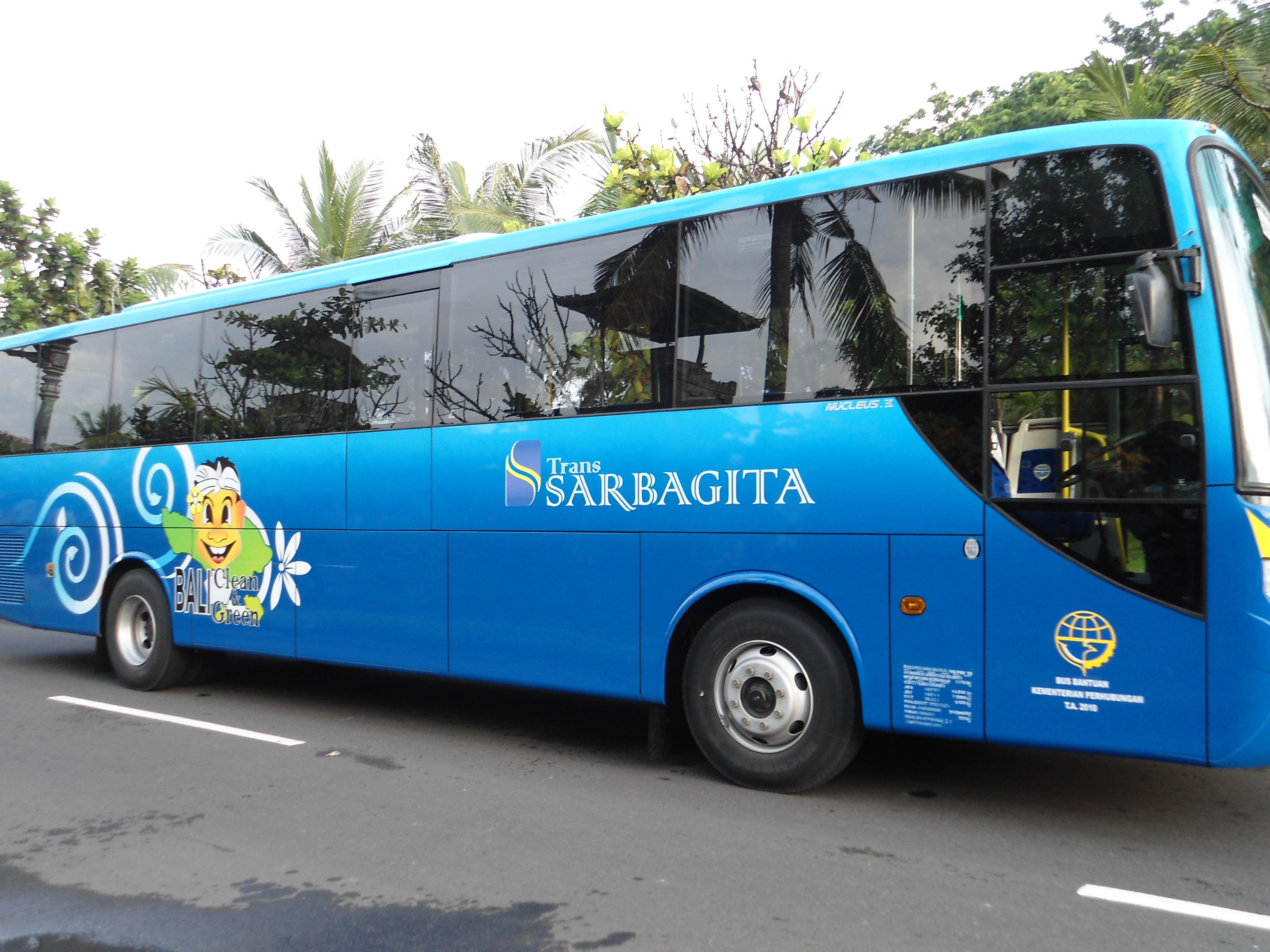 Public Bus Services At Bali Airport